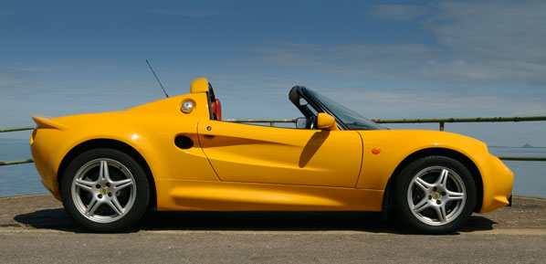 Lotus Elise S1 Hire Scotland