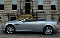 Aston Martin DB9 Volante Hire Scotland